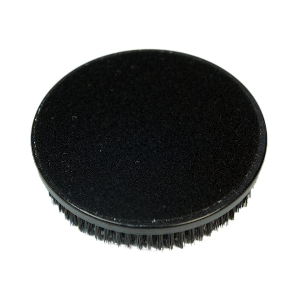 "5"" Rotary Upholstery Power Brush w. 1"" Bristles, Velcro Backing (Pack of 3) - CarCarez Professional Auto Detailing and Cleaning Products"