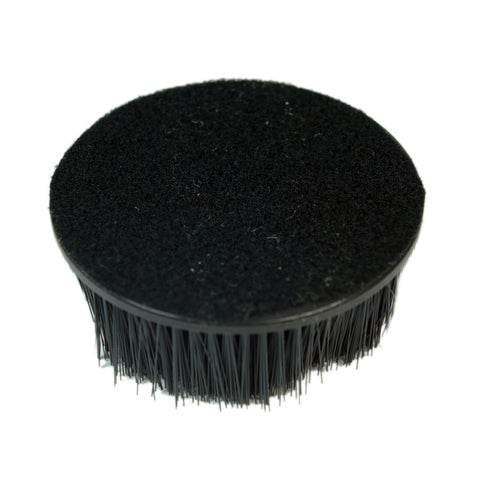 "5"" Round Hook & Loop Backing 2""Bristles brush Upholstery Machine Cleaning with 2"" Bristles"