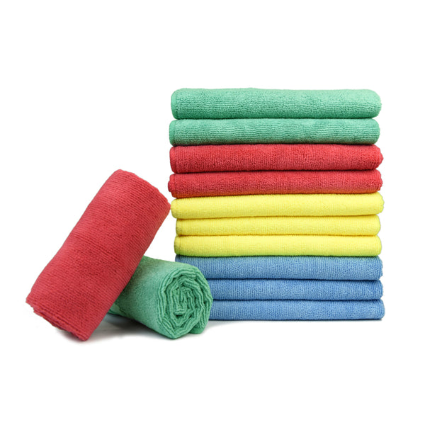 Car Wash and clean Microfiber Basic Towel Overlock, 16