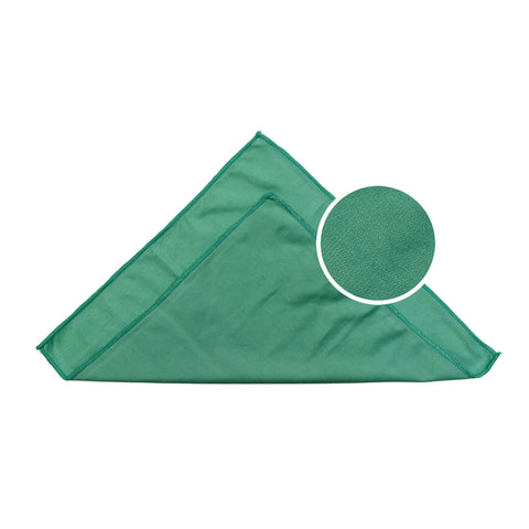 "Car windows, windshields, and rearview mirrors Microfiber Towel 16"" x 16"" Green Pack of 6"