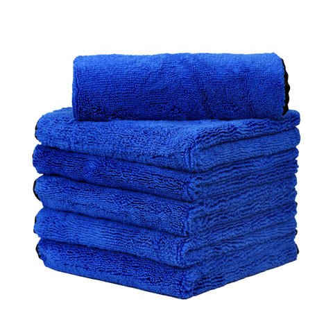 "Long/Short Hair Microfiber Towel (16""x16"", 500GSM, Pack of 4) - CarCarez Professional Auto Detailing and Cleaning Products"