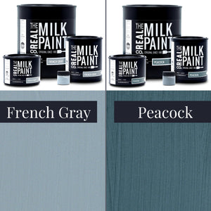 Milk Paint - The Blue Collection, All Natural VOC-free Finish