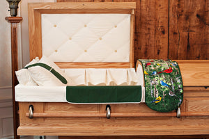 Casket Overlay Accessory Set - Nature and Floral