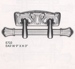 Steel Extension Casket Handle, EAR, Crown Royale