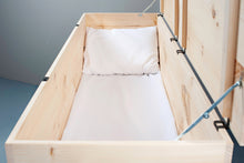 Casket Mattress and Pillow Set, Universal Fit