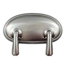Casket Handles, Oval Lug with 2 Swing Bar Arms, Bar Handle
