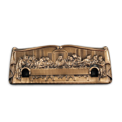 The Last Supper, Lug for Bolt-Through Handles, Antique Finish