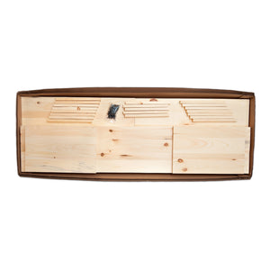 Casket Kit, Plain Pine Box