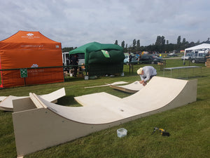 Modular Mini Ramp - 2ft x 8ft