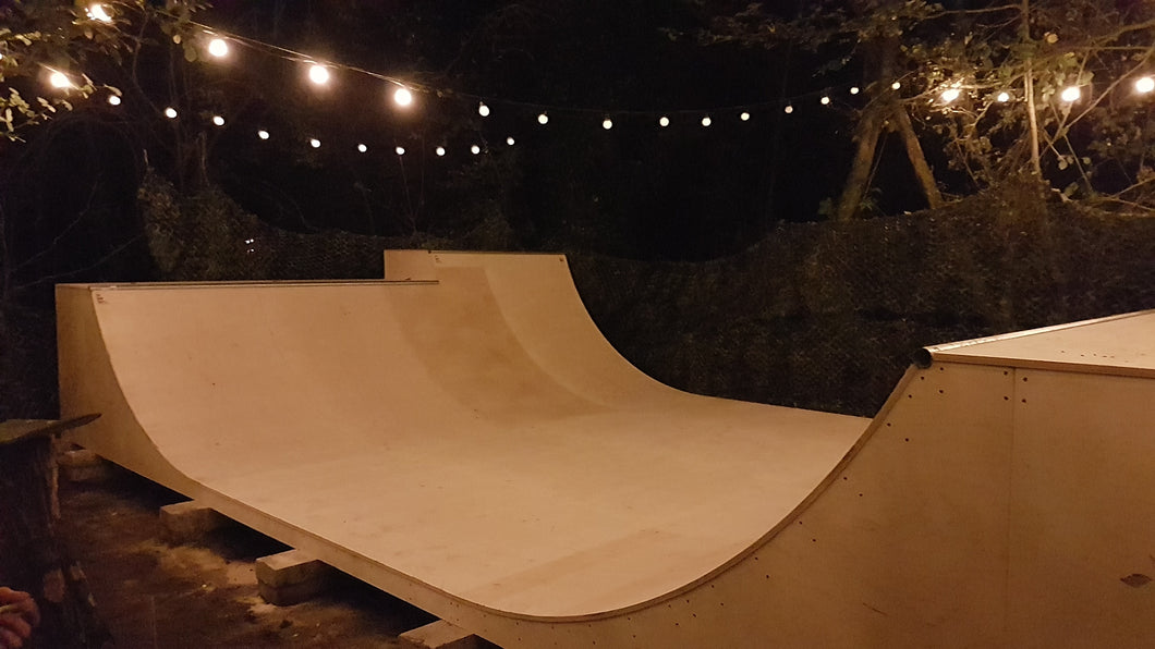 4ft Mini Half Pipe