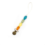 Load image into Gallery viewer, Petite Jewel Pacifier & Toy Clip - BPA Free Silicone