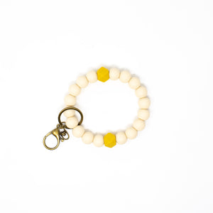 Sophia Key Bangle Bracelet - Chewable Jewelry