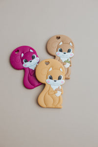 Squirrel Silicone Teether - BPA Free