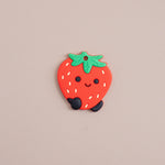 Load image into Gallery viewer, Strawberry Silicone Teether