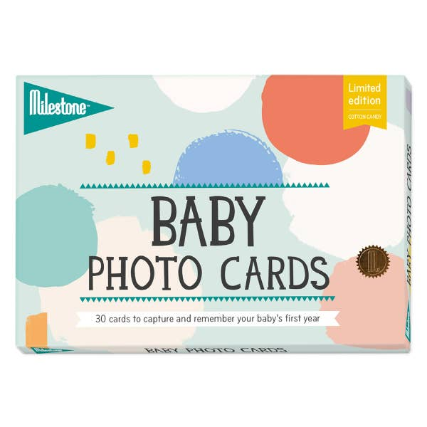 Milestone Baby Photo Cards