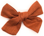 Load image into Gallery viewer, Harper Linen Clip/Bow