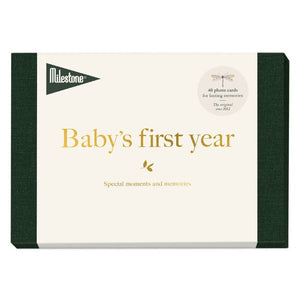 Milestone Baby's First Year Cards