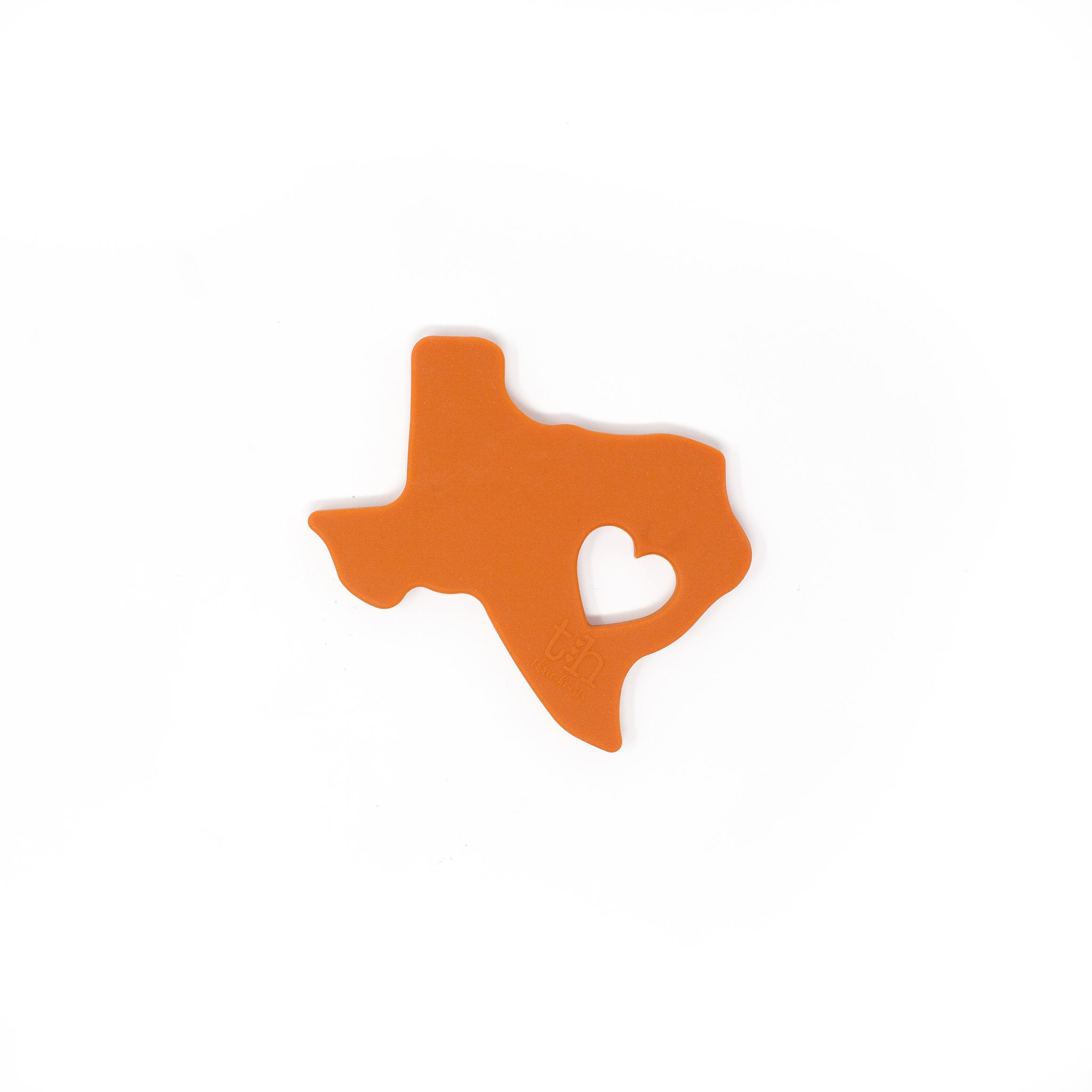 Aggie, Longhorn, & Baylor Texas Teether - Modern Baby Shower Gifts