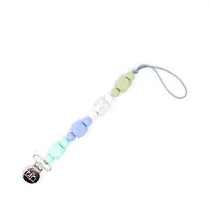 Harvest Three Little Tots Beaded Silicone Paci Clip