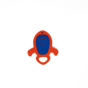 Rocket Ship Silicone Teether - BPA Free