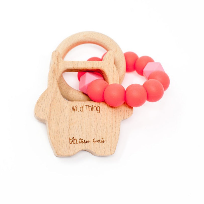 Wild Thing Rattle - BPA Free Silicone