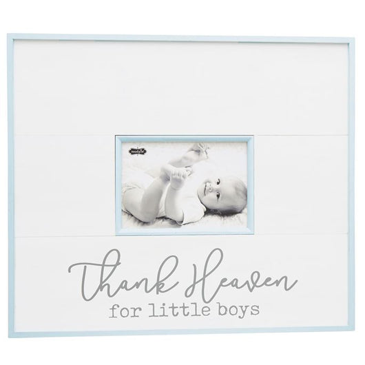 Thank Heaven For Little Boys Frame