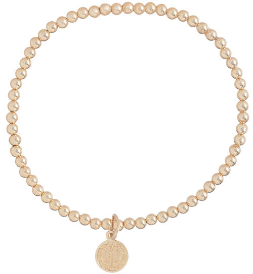 enewton Classic Gold 3mm Bead Bracelet