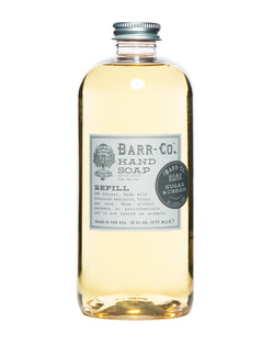 Barr-Co Hand Soap Refill- Sugar & Cream