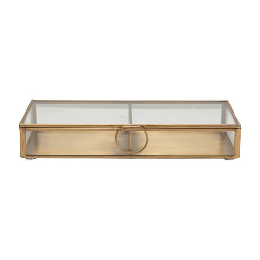Brass & Glass Display Box