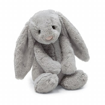 JellyCat - Large Bashful Grey Bunny