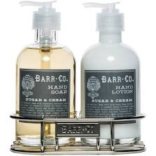 Barr-Co Hand and Body Caddy Set- Sugar & Cream
