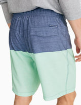 Southern Tide Colorblocked Swim Shorts - Blue/Green
