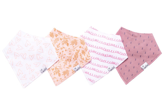 Baby Bandana Bib Set (4-Pack)
