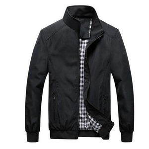 Nathanael Pop Collar Jacket-Jackets-BitTrend