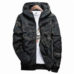 Dominick Blurred Lines Windbreaker-Jackets-BitTrend