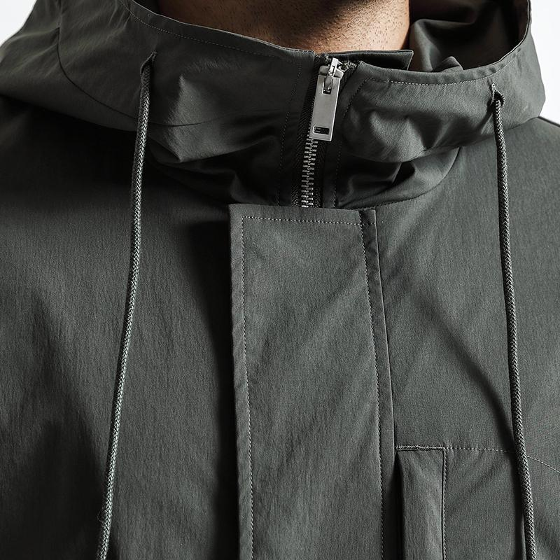 Joel Brown Hooded Jacket-Jackets-BitTrend