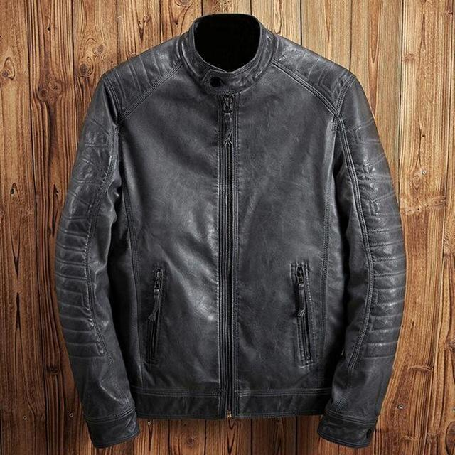 Toby Miller Leather Jacket-Jackets-BitTrend
