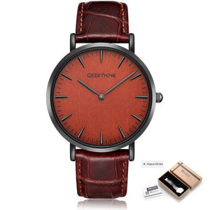 Expert Gambit Leather Watch-Watch-BitTrend