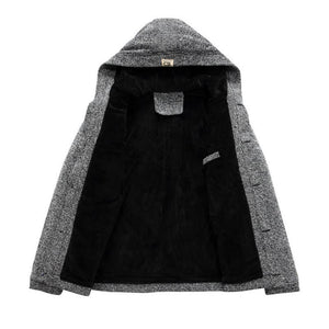 2018 - Men's Winter 'Button Down' Coat-BitTrend