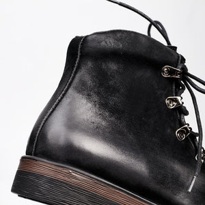 Gaston Lavigne Lace-up Boots-Boots-BitTrend