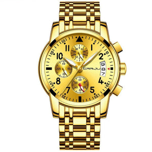 Golden Ninja Chronograph Watch-Watch-BitTrend