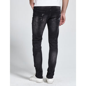 George Stretch Biker Jeans