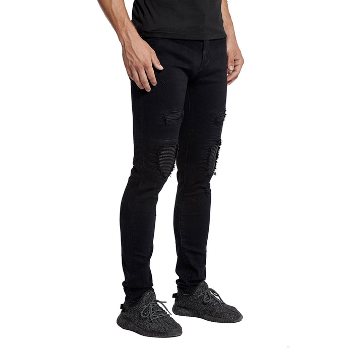 Lee Morgan Biker Stretch Jeans
