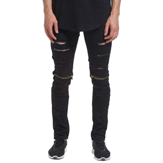 Julian Samor Distressed Jeans