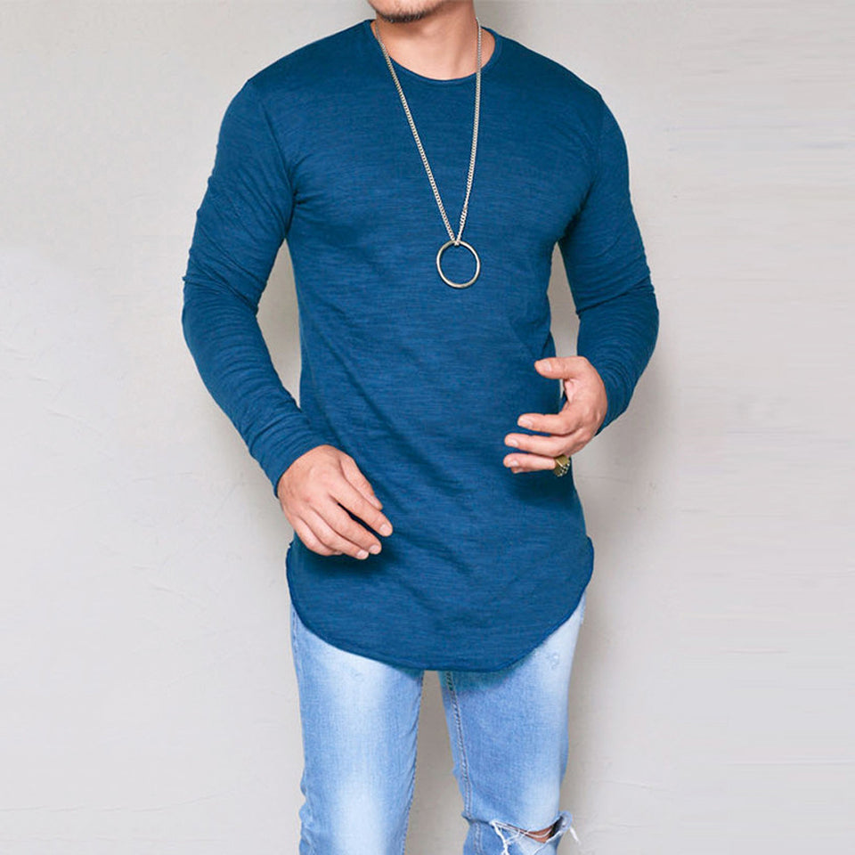 James Rear Long Sleeve T-Shirt-T-Shirt-BitTrend