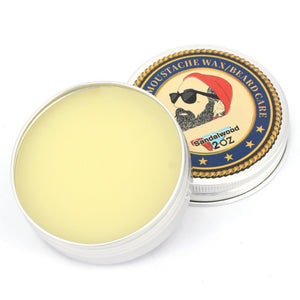 Natural - Beard & Moustache Beeswax Balm-Body-BitTrend
