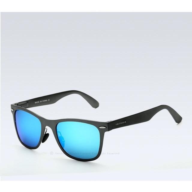 Avenue Aluminum Mirror Sunglasses-Sunglasses-BitTrend