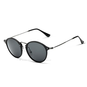 Solstice Polarized Round Sunglasses-Sunglasses-BitTrend