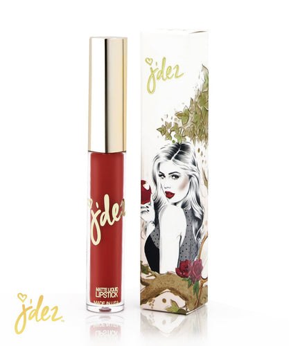 Apple Poison Matte Lipstick | Jdez Beauty