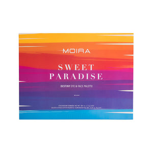 MOIRA - Sweet Paradise Eye & Face Palette